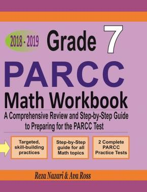 PARCC Math Exercise Book for Grade 5: Student Workbook and