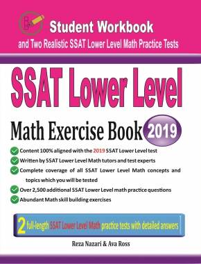 SSAT Lower Level Math Exercise Book: Student Workbook and