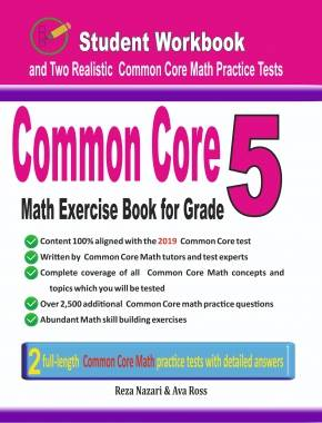 7th Grade Common Core Math Workbook: The Most Comprehensive Review