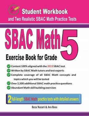 7th Grade SBAC Math Workbook 2018: The Most Comprehensive Review for
