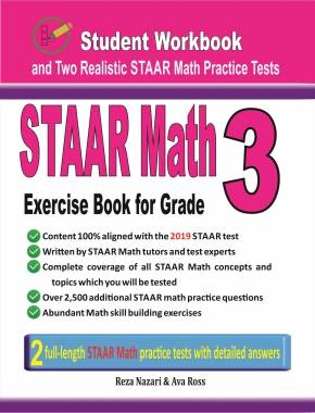 STAAR Mathematics Workbook For Grade 7: Step-By-Step Guide