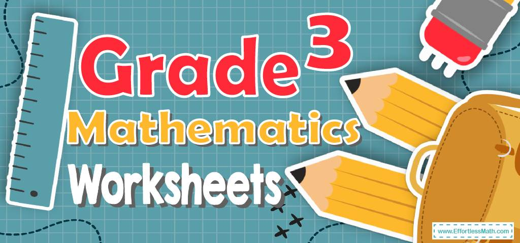 3rd Grade Mathematics Worksheets