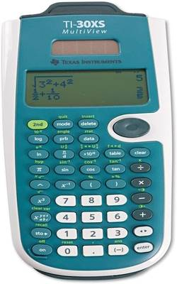 This image has an empty alt attribute; its file name is TI-30XS-MultiView™-Scientific-Calculator.jpg